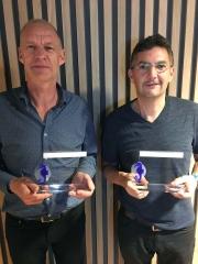 Bruno Ometak et Jacques Souttre